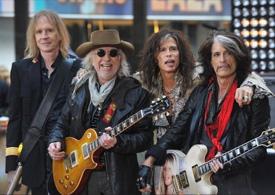 группа Aerosmith в Москве